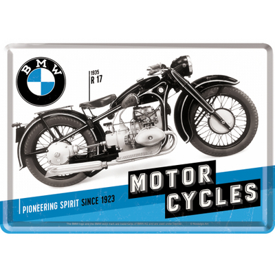 Postcard BMW Motorcycles