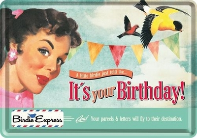 Postcard It`s your Birthday!