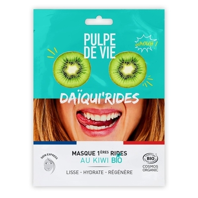 Pulpe De Vie Deeply moisturizing tissue face mask Daqui'rides