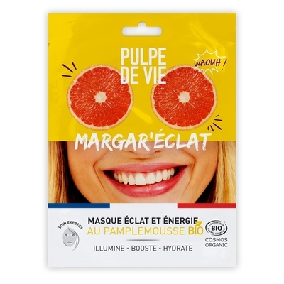 Pulpe De Vie Energizing tissue face mask Margar'eclat