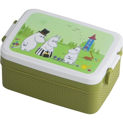 Rätt Start Moomin lunch box, green
