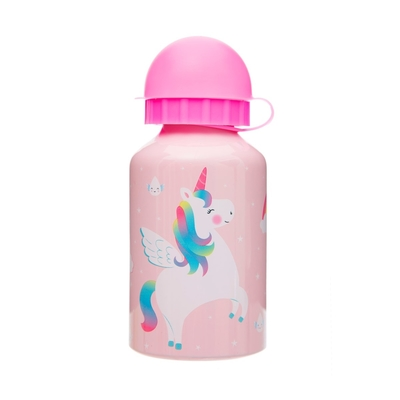 Rainbow unicorns children's drinking bottle, 300ml