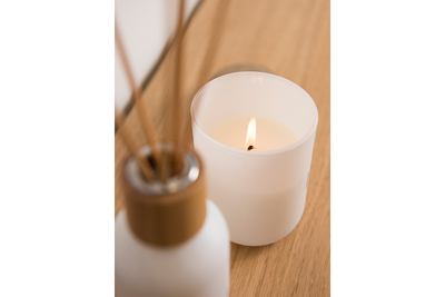 Rento Birch scented candle, white