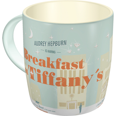 Retro mug Breakfast at Tiffany's