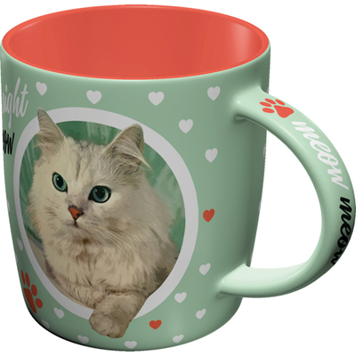 Retro-mug Cat Lover