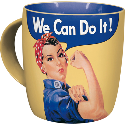 Retro-mug We Can Do It!