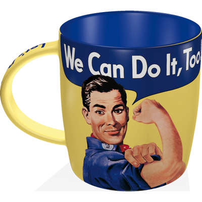 Retro-mug We Can Do It Too