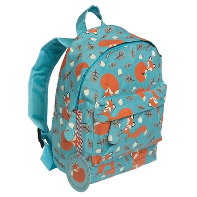 Rusty the Fox, children's club or pre-school backpack