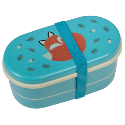 Rusty the Fox lunch box for a child