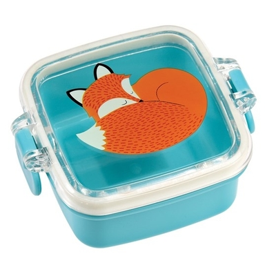Rusty the Fox small plastic snack box