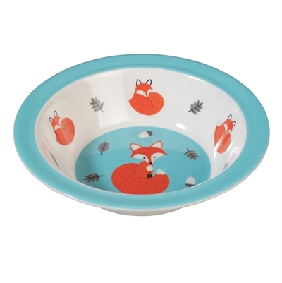 Rusty the fox children's deep plate