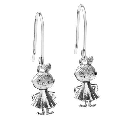 Saurum Little My earrings, silver