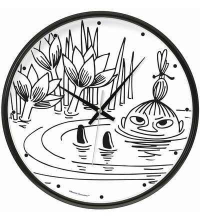 Saurum Little My swimming wall clock