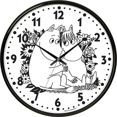Saurum Love wall clock