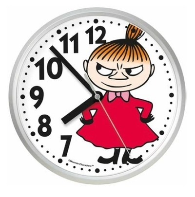 Saurum Moomin wall clock, Little My
