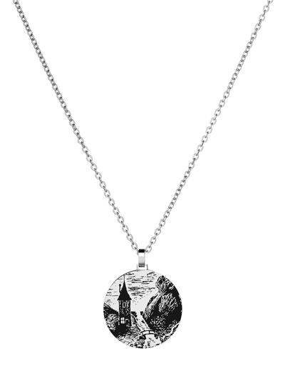 Saurum pendant necklace, Moominvalley, big