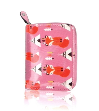 Shy Fox small purse, pink