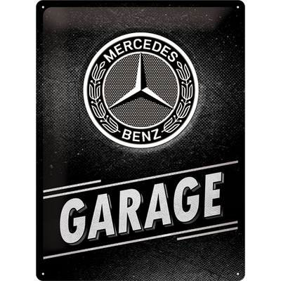 Sign 30x40 Mercedes-Benz - Garage