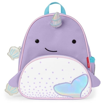 Skip Hop children's backpack, Narwhal