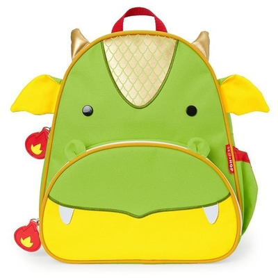 Skip Hop children's backpack Dragon, green