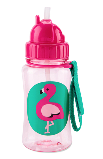 Skip Hop drinking bottle, Flamingo