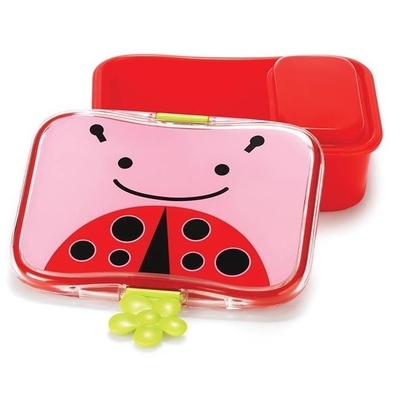 Skip Hop lunch box with an inner box, Ladybug