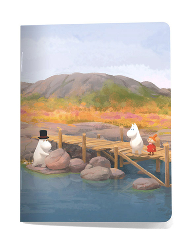 Small notebook Moomin - Dock/Our sea