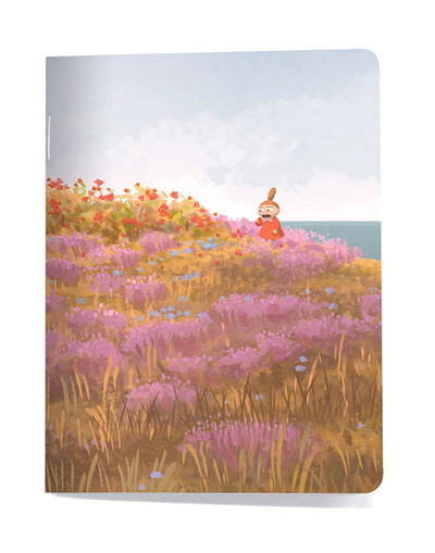 Small notebook Moomin - Meadow/Our sea