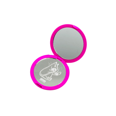 Snorkmaiden compact mirror, purple
