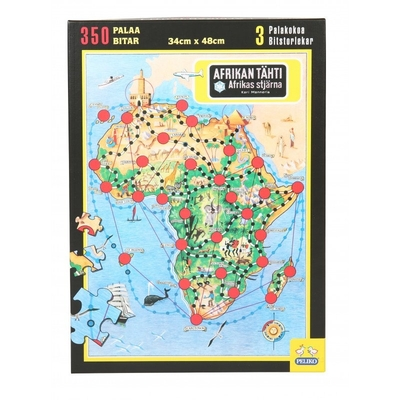 Star of Africa jigsaw puzzle, 350 pcs