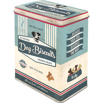 Storage tin can 3D Dog Biscuits