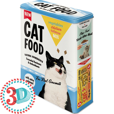 Storing can XL Cat Food