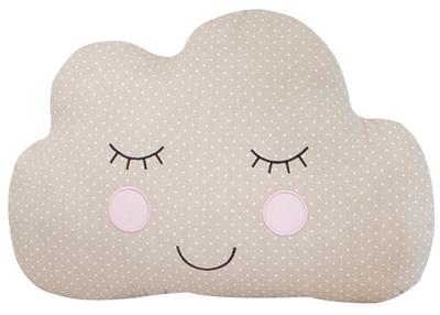 Sweet Dreams cloud pillow, beige