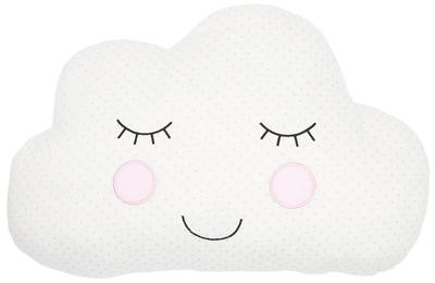 Sweet Dreams cloud pillow, white