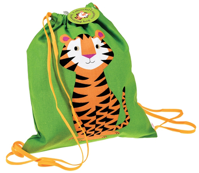 Swim and gym bag, Tiger