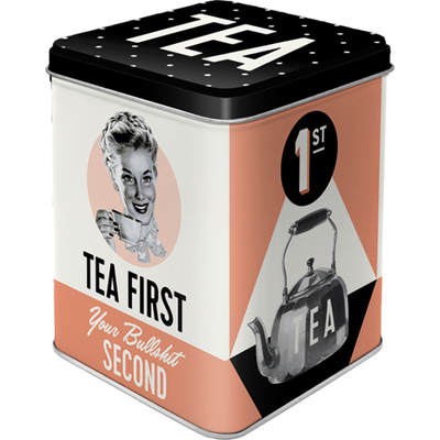 Tea caddy Tea First