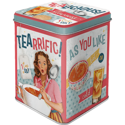 Tea caddy Tealicious & Tearrific
