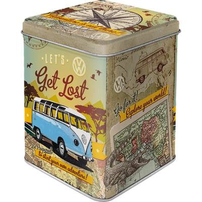 Tea caddy VW Bulli - Let's Get Lost