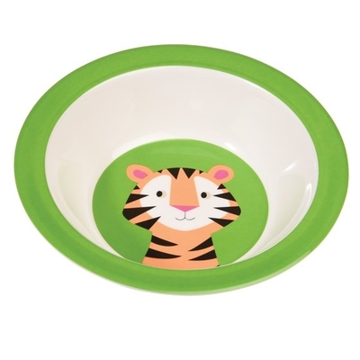 Tiger children's deep plate