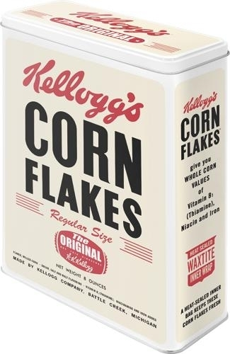 Tin Box XL Kellogg's Corn Flakes The Original