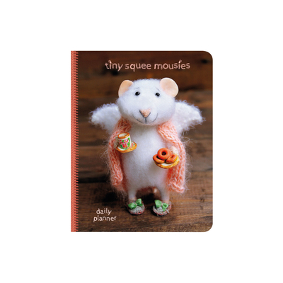 "Tiny Squee Mousies journal / calendar ""Donut Know What I'd Do Without You"""