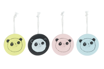 "Towel clips 4pcs, ""Pandaset"""