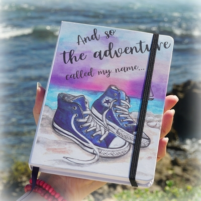 "Travel diary / notebook: ""Converse traveler"""