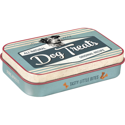 Treats tin box Dog Treats Tasty little bites