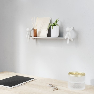 Umbra Buddy shelf, white