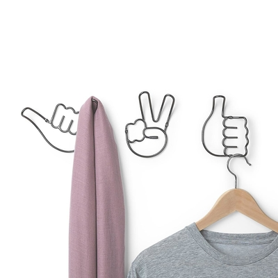Umbra Handy Hooks - clothing rack 3kpl