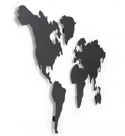 Umbra Mappit wall decoration, world map