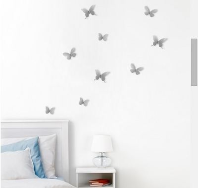 Umbra Wall Decor Mariposa - Seinäkoristeet 9kpl, metalli