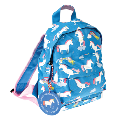 Unicorn children's club or pre-school backpack