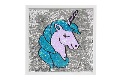 Unicorn sequin board